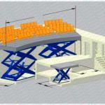 Plataforma elevadora para escenarios y orquestas :: Dexve
