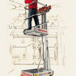 Plataforma elevadora de posicionamiento eléctrico :: Faraone ELEVAH 50 MOVE