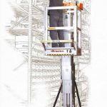 Plataforma elevadora de posicionamiento eléctrico :: Faraone ELEVAH 65 MOVE PICKING