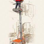 Plataforma elevadora de posicionamiento manual :: Faraone ELEVAH 61