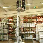 Plataforma elevadora de posicionamiento manual :: Faraone SERIE PK