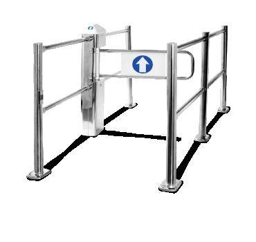 Portillo de acceso peatonal CARTTEC ELECTRIC CRTT-S