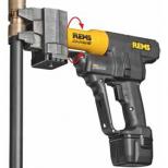 Prensadora axial eléctrica para la elaboración de uniones de casquillo corredizo :: Rems Ax-Press 40