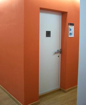 Puerta acústica de batiente SACINE