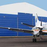 Puerta rápida apilable para hangares :: CHAMPIONDOOR