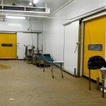 Puerta rápida autoreparable para cámaras frigoríficas :: SACINE