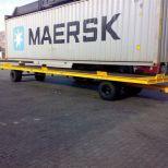 Remolque industrial para contenedores :: DTA