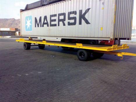 Remolque industrial para contenedores DTA