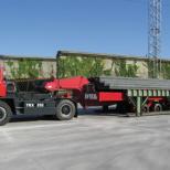 Remolque industrial con elevación hidráulica :: DTA