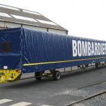 Remolque industrial para el manejo de vagones :: DTA