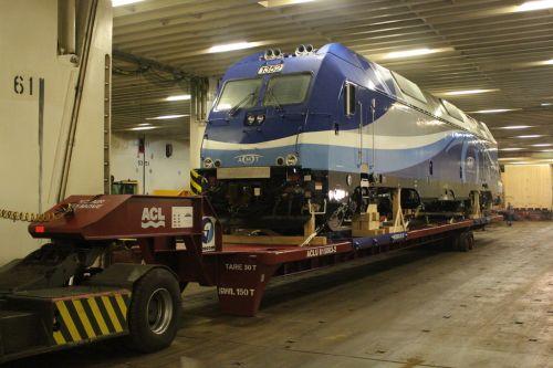 Rolltrailer para el manejo de vagones DTA