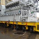 Self-propelled modular transporters SPMT
