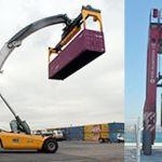 Spreader para contenedores sobredimensionado :: Tec Container BA-030E