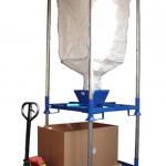 Tolva de vaciado de big bags :: Fabricaciones Metálicas