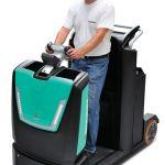 Tractor de arrastre eléctrico para conductor incorporado :: MITSUBISHI TBR30N