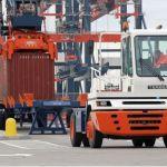Tractor de arrastre térmico portuario :: Terberg YT182DT