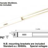 Tubo fluorescente :: Westelettric Series 123F/3