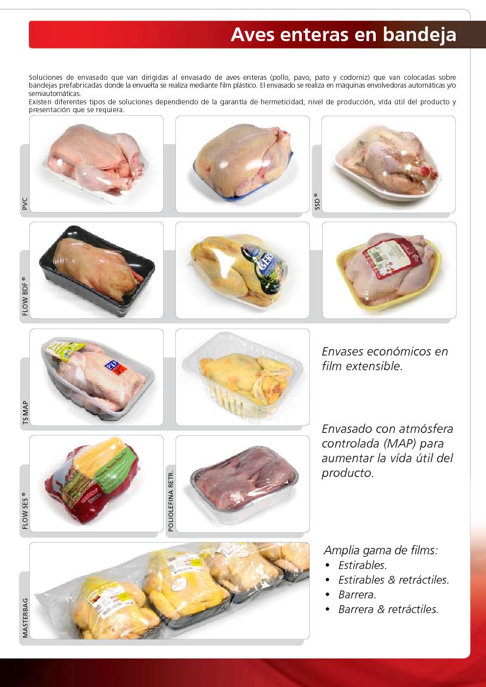 Soluciones de envasado para productos av colas pollo - Ulma granada ...