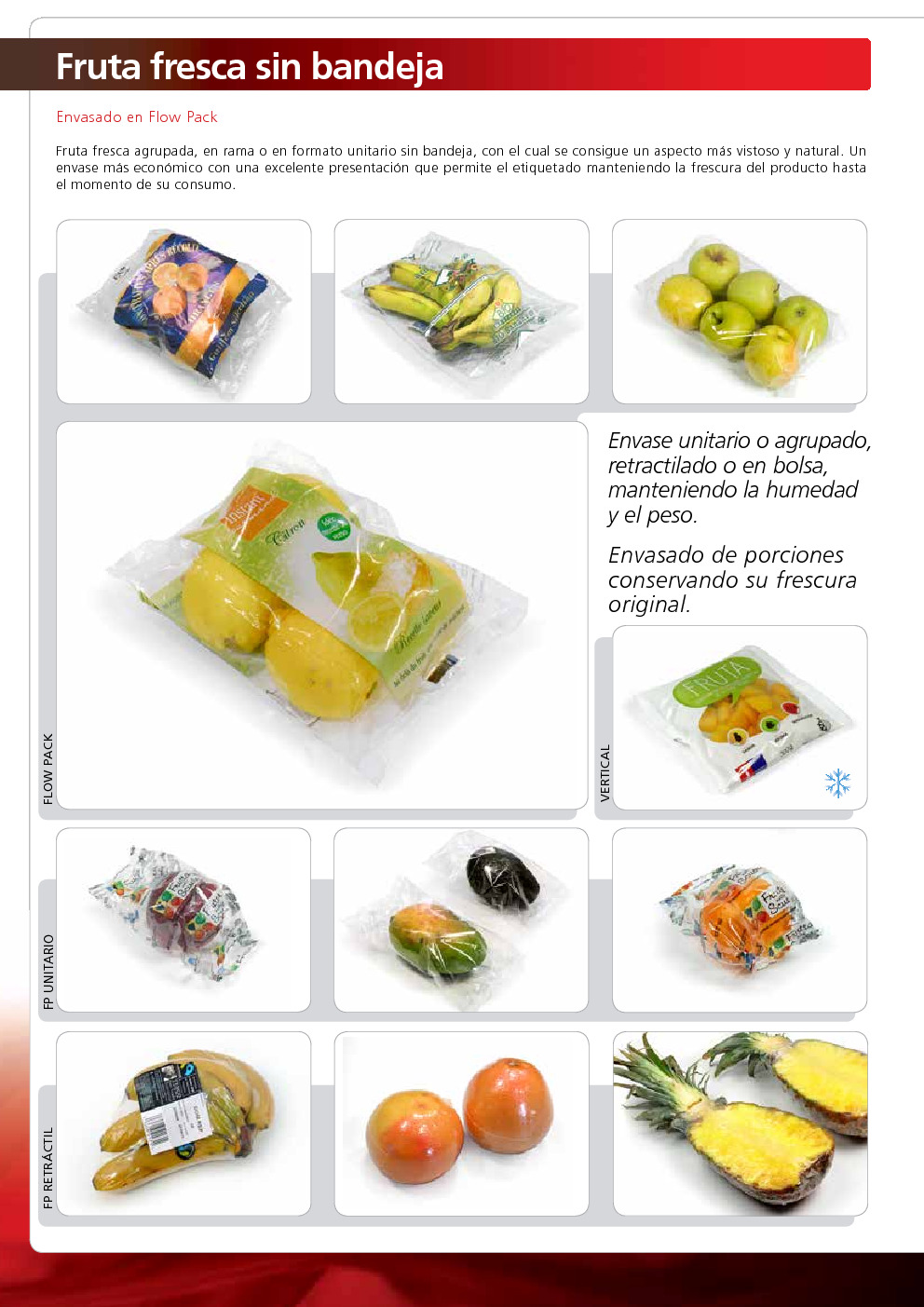 Soluciones de envasado para productos hortofrut colas ulma - Ulma granada ...
