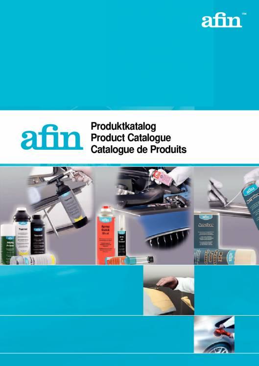 AFIN. Catálogo de productos 1