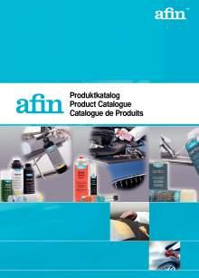 AFIN. Catálogo de productos