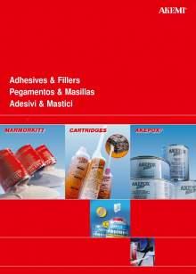 AKEMI. Catálogo de adhesivos y masillas