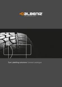 ALBENIZ Tyre labelling solutions catalog