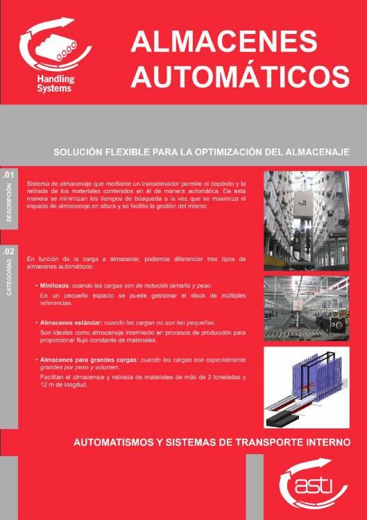Almacenes automáticos ASTI 1