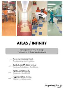 ATLAS. Pavimentos vinílicos homogéneos.