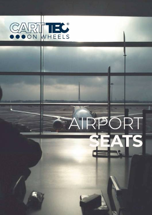 CARTTEC AIRPORT. Asientos de aeropuerto. Catálogo 2019 inglés 1