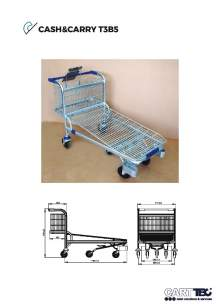 CARTTEC  CASH&CARRY T3B5. Carro bricolaje