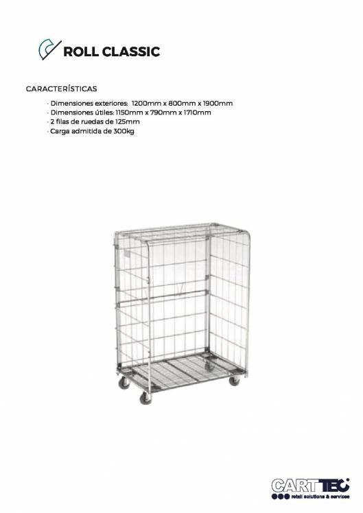 CARTTEC  Classic. Roll container 1