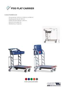 CARTTEC  F150 Flat carrier. Carro bricolaje