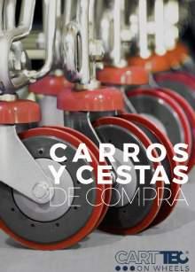 CARTTEC RETAIL. Carros y cestas de supermercado. Catálogo Español 2019