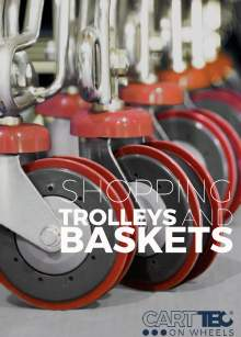 CARTTEC RETAIL. Carros y cestas de supermercado. Catálogo inglés 2019