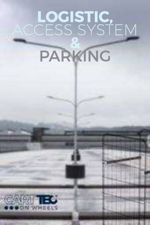 CARTTEC RETAIL. Logística, acceso y parking. Catálogo inglés 2019 1