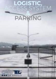 CARTTEC RETAIL. Logística, acceso y parking. Catálogo inglés 2019