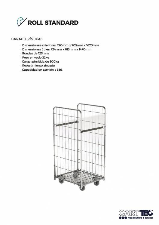 CARTTEC  Standard. Roll container 1