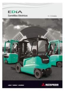 Catálogo carretillas elevadoras eléctricas Mitsubishi EDIA 1.0-5.0