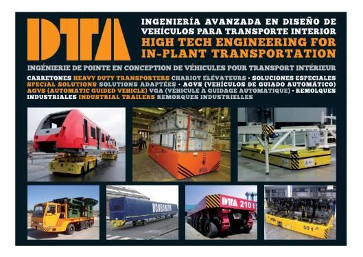 Catálogo DTA. Vehículos para transporte interno 1