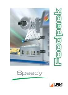 Catálogo FP SPEEDY. Termoselladoras automáticas de media producción