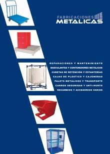 Catálogo general de FABRICACIONES METÁLICAS