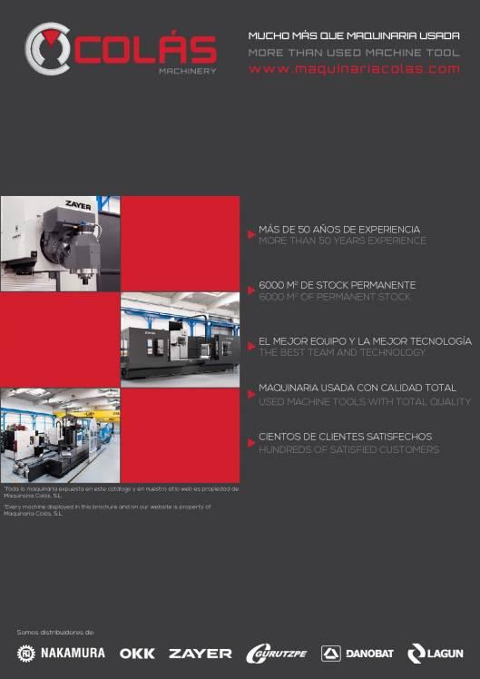 Catálogo general de Maquinaria Colás 1