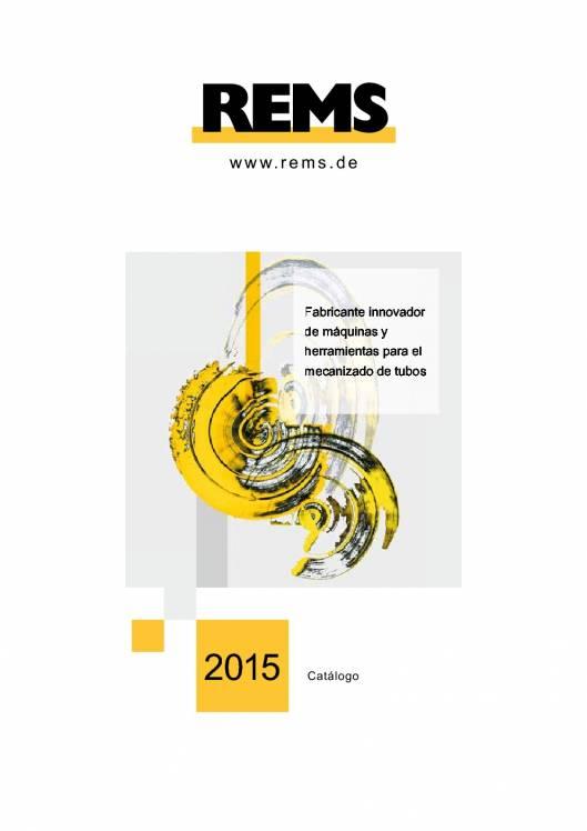 Catálogo general REMS 2015 1