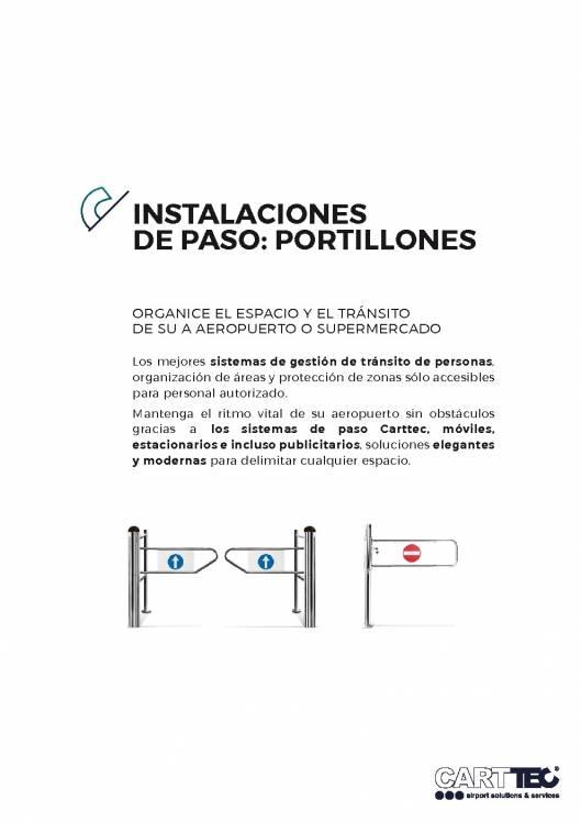 Catalogo de Instalaciones de paso CARTTEC 1
