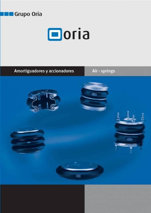 Catálogo ORIA Cilindros de fuelle 1