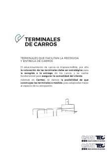 Catálogo de parking para carros de supermercado CARTTEC