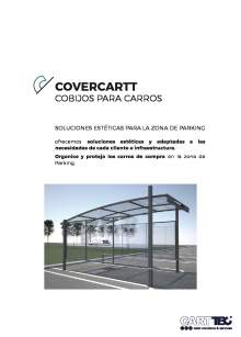 Catalógo de parking cubierto para carros de supermercado COVERCARTT