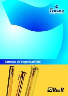 Catálogo REER EOS. Barreras fotoeléctricas de seguridad