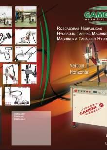 Catálogo de roscadoras hidráulicas GAMOR